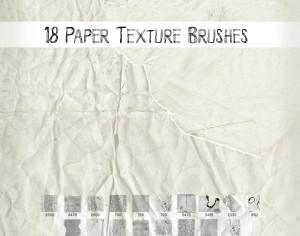 Paper Texture Brushes Photoshop brush