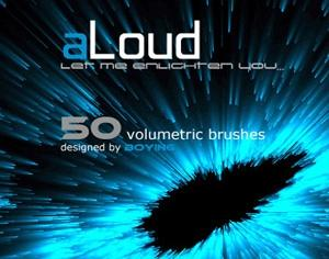 50 Volumetric Brushes Photoshop brush