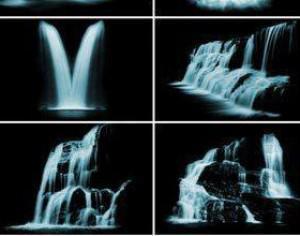 Waterfalls Photoshop brush