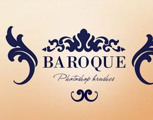 Baroque Ornaments Photoshop brush