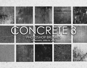 Free Concrete Photoshop Brushes 3 Photoshop brush