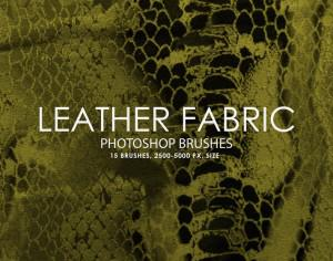 Free Leather Fabric Photoshop Brushes Photoshop brush
