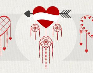 Valentine's Day Twist Brushes Photoshop brush
