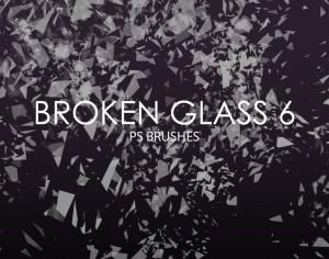 Free Broken Glass Photoshop Brushes 6 Photoshop brush