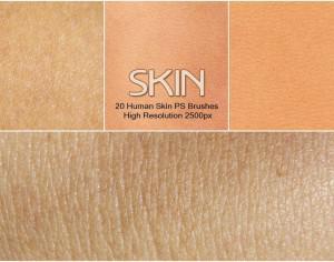 20 Human Skin PS Brushes abr. Photoshop brush