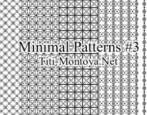 Minimal Patterns #3 Photoshop brush