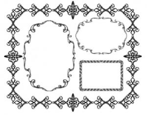 Ornament Frames Photoshop brush
