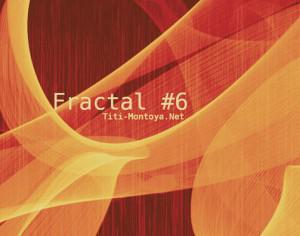 Fractal 6 Photoshop brush