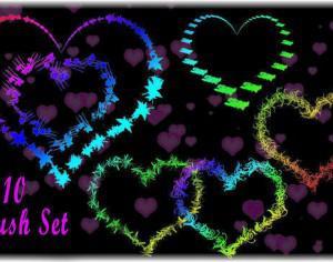 Love Heart Brush Photoshop brush