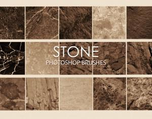 Free Stone Photoshop Brushes 6 Photoshop brush