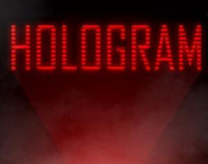 Hologram Photoshop brush