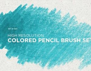 Colored Pencil Brushes Photoshop brush