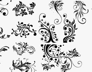 Floral Design 2 Photoshop brush