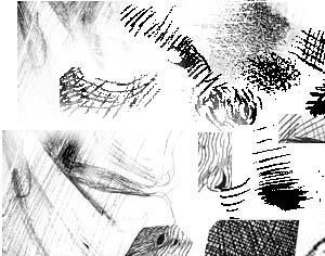 Ink Strokes Photoshop brush
