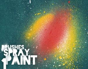 Spray Paint Brushes 1 Photoshop brush
