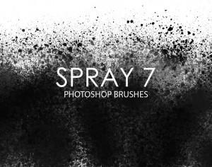Free Spray Photoshop Brushes 7 Photoshop brush