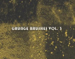 Grunge Brushes Vol. 3 Photoshop brush
