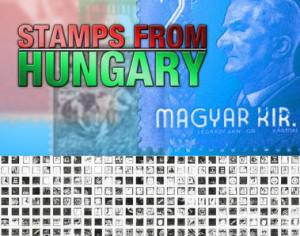 Stamps from Hungary Photoshop Brushes Photoshop brush