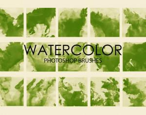 Free Watercolor Wash Photoshop Brushes 3 Photoshop brush