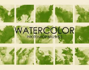 Free Watercolor Wash Photoshop Brushes 3 Photoshop brush