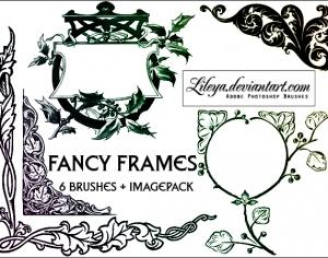 Fancy Frames Photoshop brush