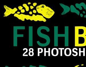 Fish Bones Photoshop brush