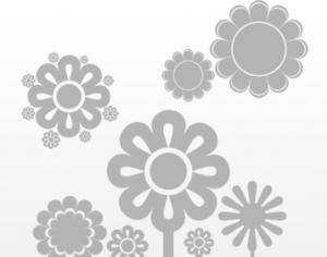Cute Flower Brushes Photoshop brush