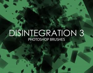 Free Disintegration Photoshop Brushes 3 Photoshop brush