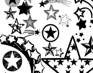 Star Brushes Photoshop brush