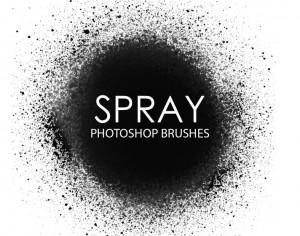 Free Spray Photoshop Brushes Photoshop brush