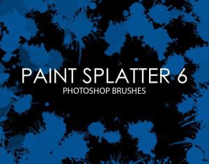 Free Paint Splatter Photoshop Brushes 6 Photoshop brush