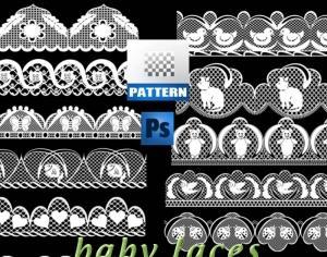 Baby Laces Photoshop brush