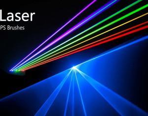 20 Laser PS Brushes abr. vol.4 Photoshop brush
