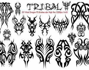 Tribal PS Brushes Vol.8 Photoshop brush