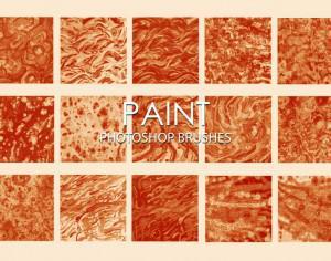 Free Dirty Paint Photoshop Brushes 4 Photoshop brush