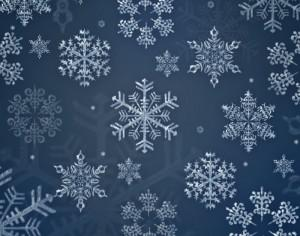 12 Snowflakes Brushes Photoshop brush