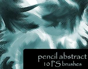 Pencil Abstract Photoshop brush