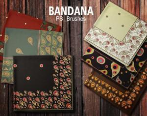 20 Bandana PS Brushes.abr vol.5 Photoshop brush