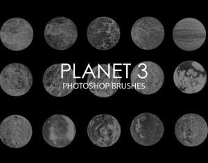 Free Abstract Planet Photoshop Brushes 3 Photoshop brush