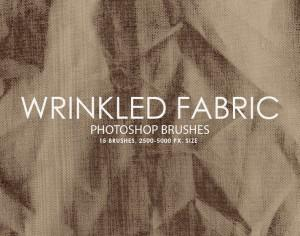 Free Wrinkled Fabric Photoshop Brushes Photoshop brush