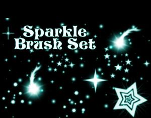 Sparkle Brushes Photoshop brush
