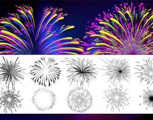 Firework Brushes Photoshop brush