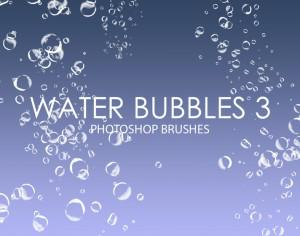 Free Water Bubbles Photoshop Brushes 3 Photoshop brush