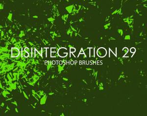 Free Disintegration Photoshop Brushes 29 Photoshop brush