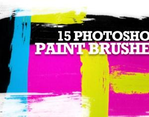 15 Photoshop Paint Brushes Photoshop brush