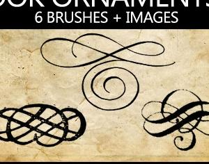 Book Ornaments Brushes 1 Photoshop brush