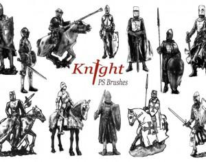 20 Knight PS Brushes abr.vol.3 Photoshop brush