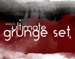 Ultimate Grunge Set Photoshop brush
