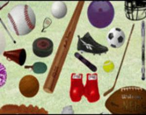 Sports Objects Photoshop brush