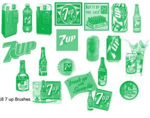 Free 7 Up Brushes Photoshop brush